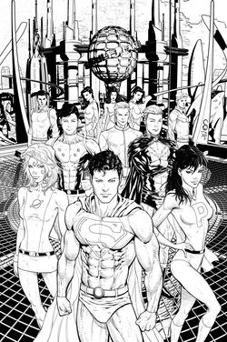 Inked artwork by Scott Clark and Dave Beaty