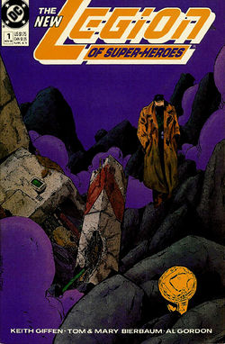 Cover artwork by Keith Giffen, Al Gordon and Tom McCraw