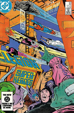 Cover artwork by Keith Giffen and Larry Mahlstedt